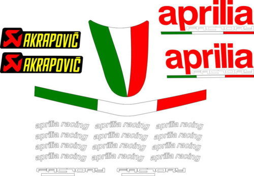 Комплект наклеек Aprilia FACTORY UNIVERSAL