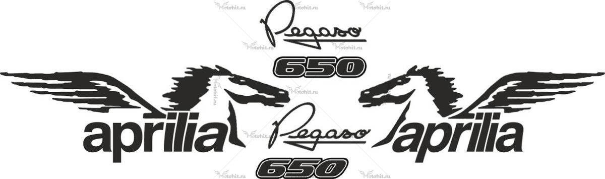 Комплект наклеек Aprilia PEGASO