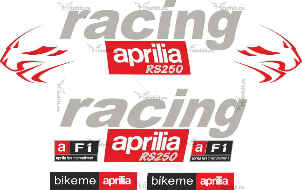 Комплект наклеек Aprilia RS-250 PANTHERS