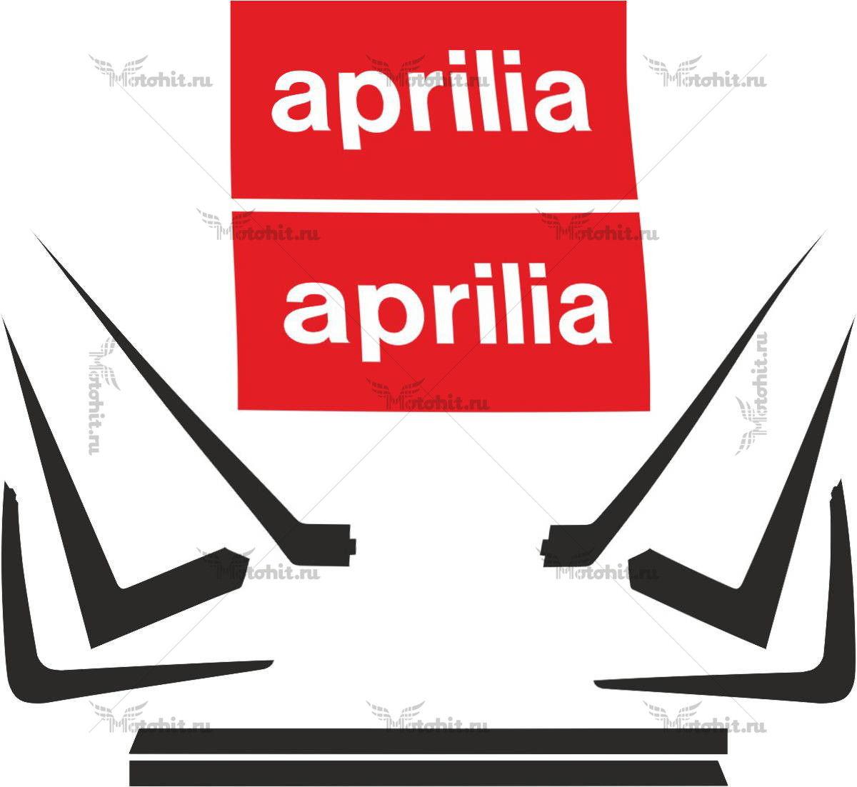 Комплект наклеек Aprilia RSV