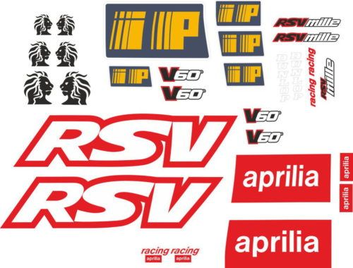 Комплект наклеек Aprilia RSV-MILLE-2
