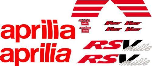 Комплект наклеек Aprilia RSV-MILLE 2000