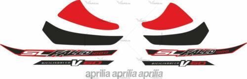 Комплект наклеек Aprilia SL-1000-FALCO 2003 BLACK