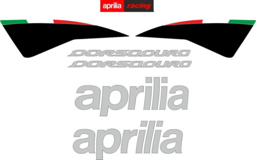 Комплект наклеек Aprilia SMV-750 DORSODURO 2007-2012 BLACK
