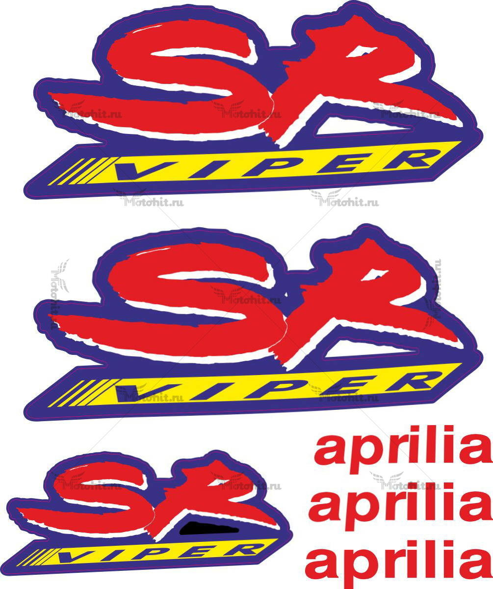 Комплект наклеек Aprilia SR-VIPER