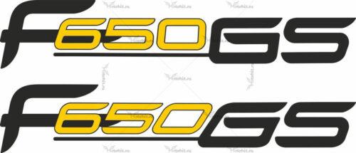 Наклейка BMW F-650-GS-LOGO