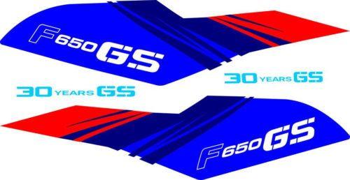 Комплект наклеек BMW F-650 2010-2011 30TH