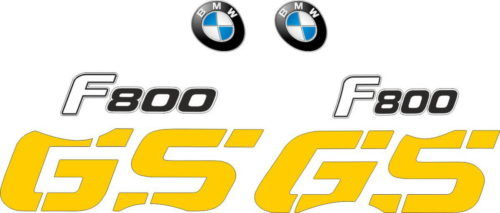 Комплект наклеек BMW F-800-GS 2008-2009 YELLOW