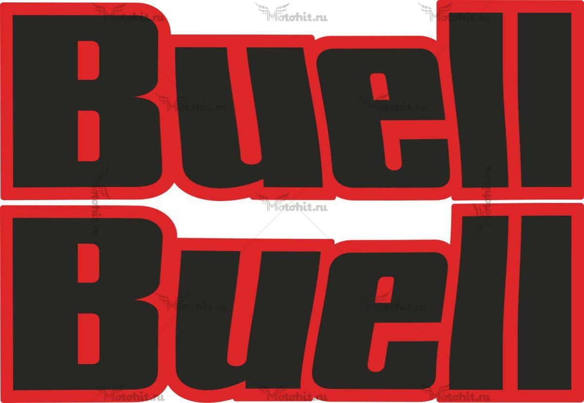 Наклейка BUELL LOGO-2-COLOR