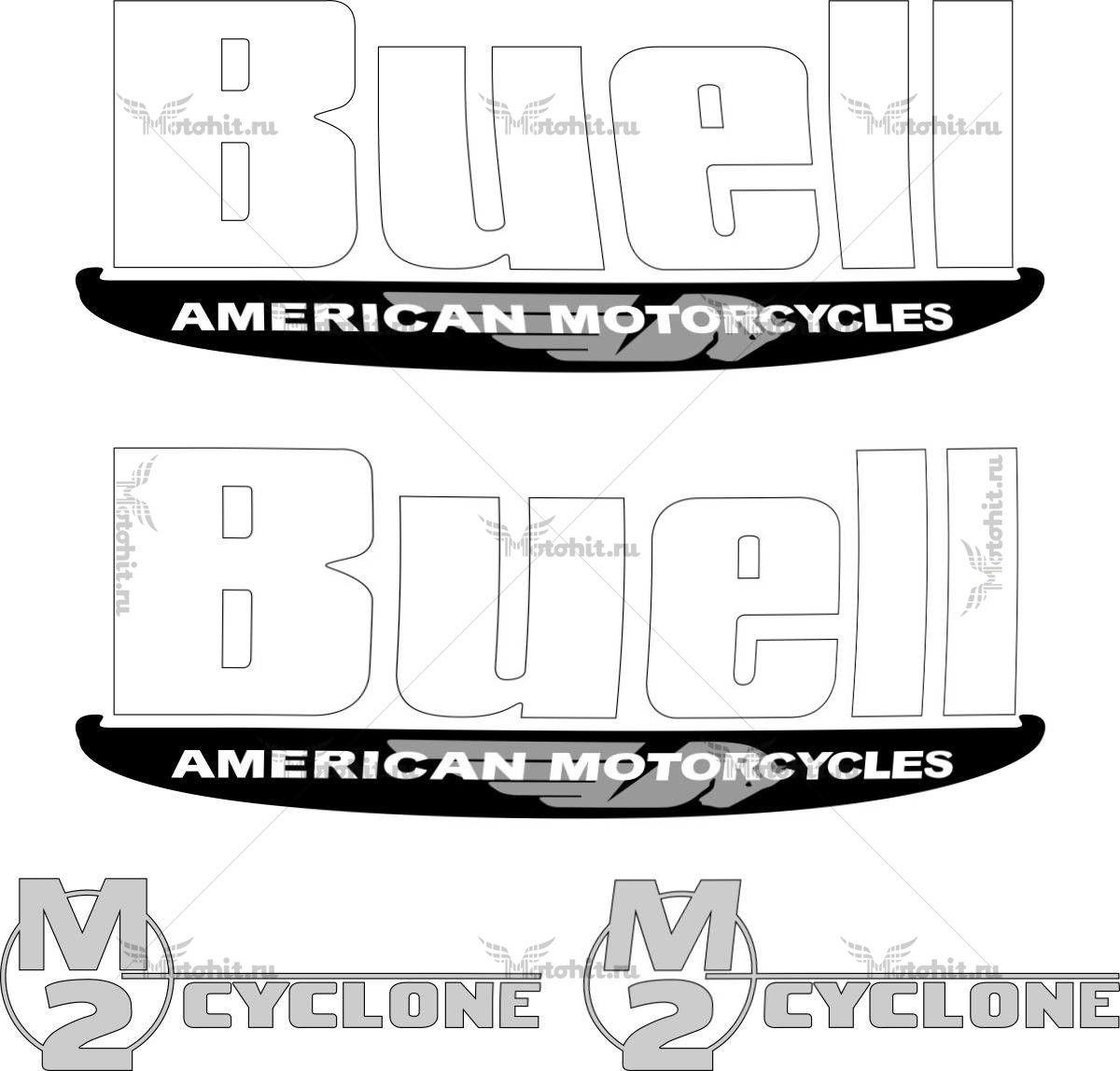 Наклейка BUELL M2-CYCLONE-MK2 1997-2000