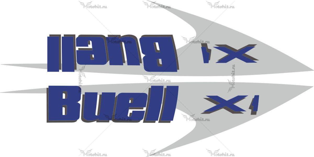 Наклейка BUELL X1