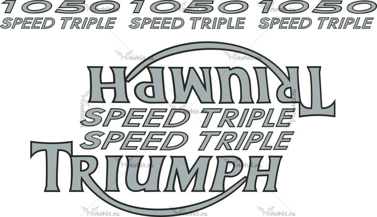 Комплект наклеек DAYTONA-1050 TRIUMPH-SPEEDTR