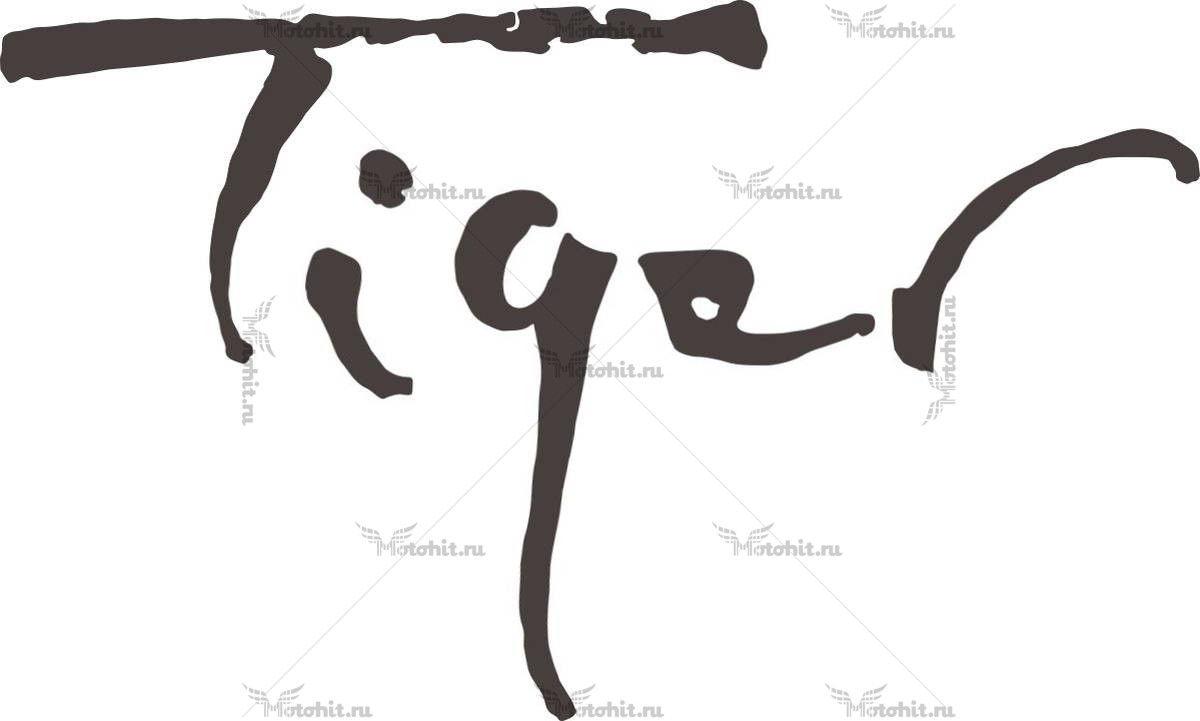 Наклейка DAYTONA TIGER