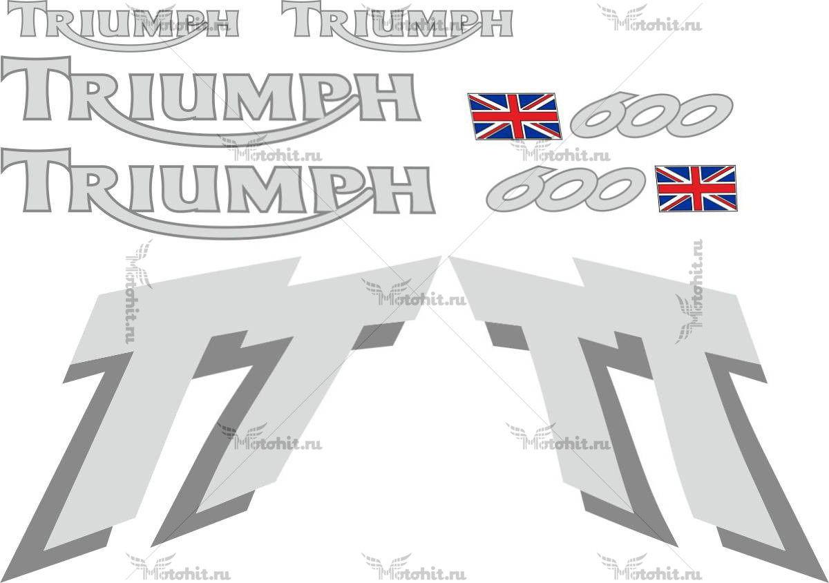 Комплект наклеек DAYTONA TRIUMPH TT-600