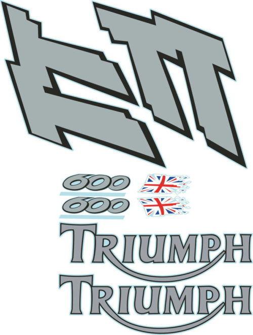 Комплект наклеек DAYTONA TRIUMPH TT-600-2