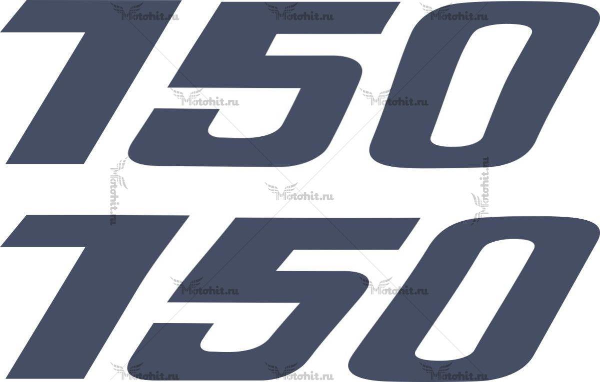 Наклейка DUCATI-750 2