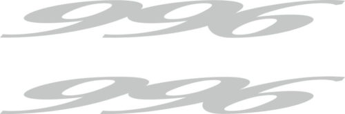 Наклейка DUCATI-996 2