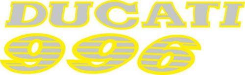 Наклейка DUCATI-996 3