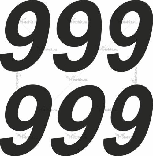 Наклейка DUCATI-999