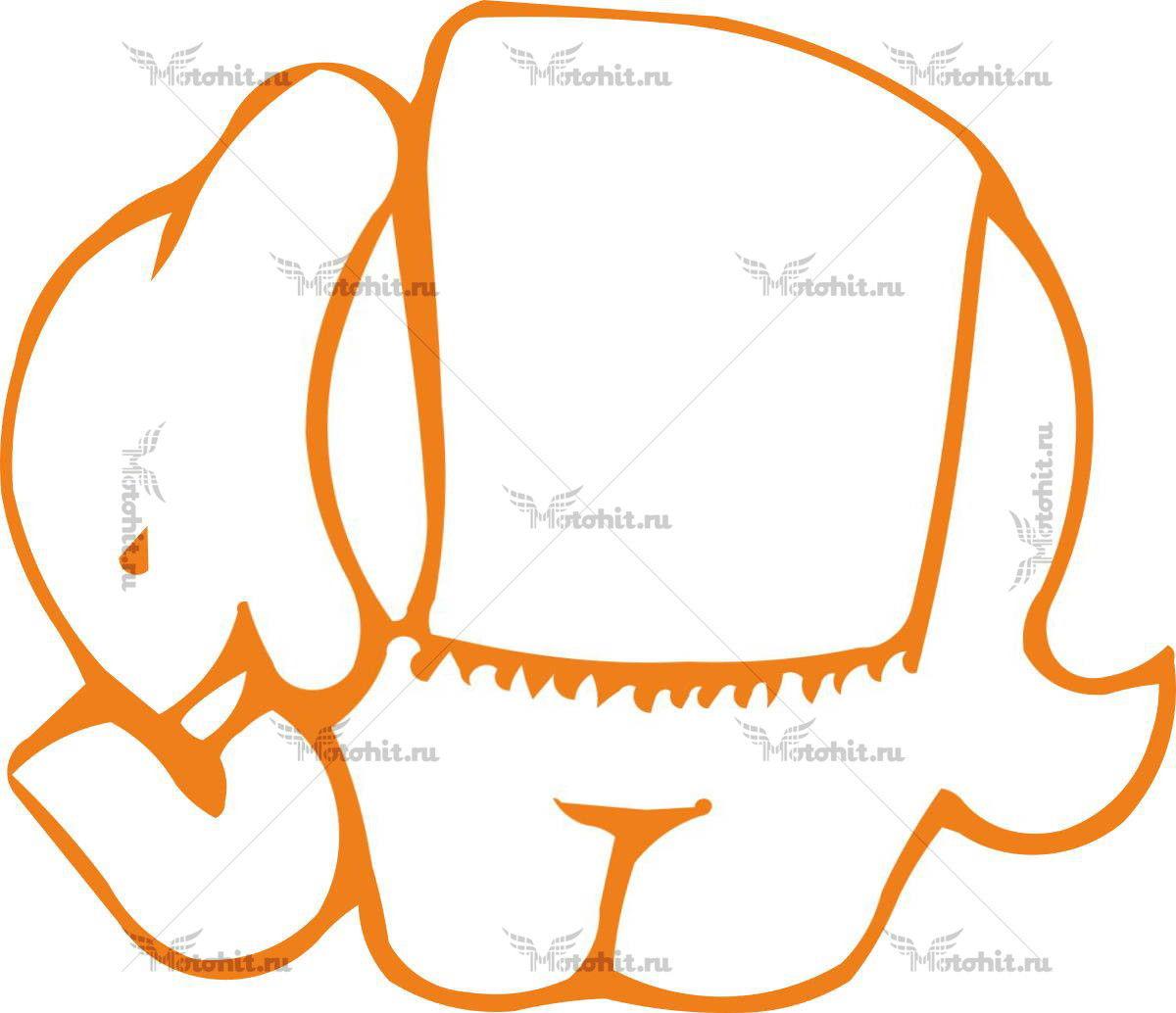 Наклейка DUCATI DUKE-ELEPHANT