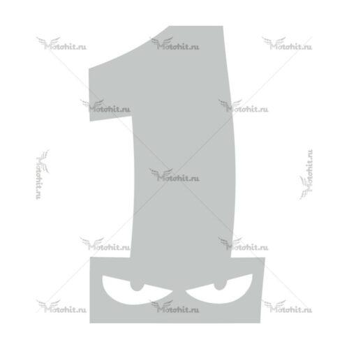Наклейка DUCATI F-EYES-1
