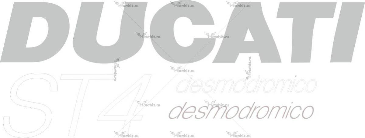 Наклейка DUCATI ST4