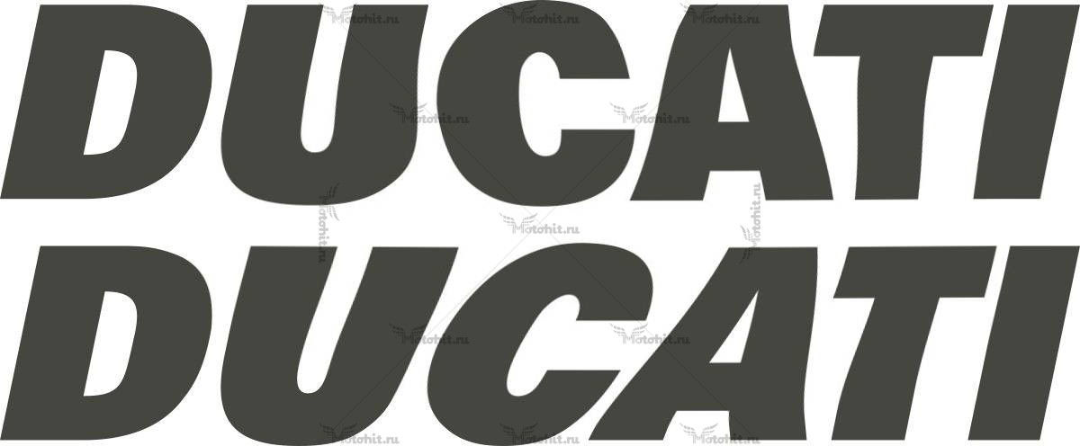 Наклейка DUCATI TXT-LOGO