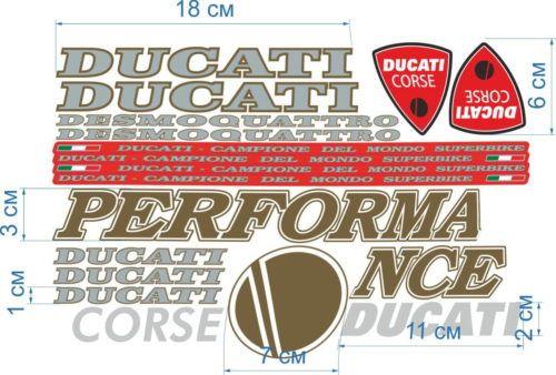 Комплект наклеек DUCATI 748 MIX