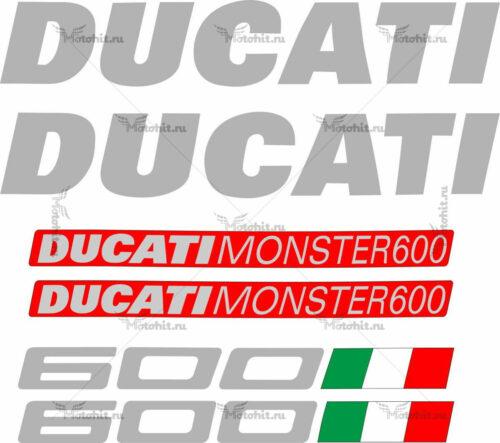 Комплект наклеек DUCATI-600