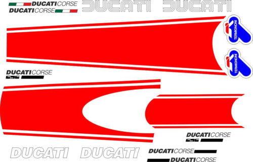Комплект наклеек DUCATI-696 MONSTER