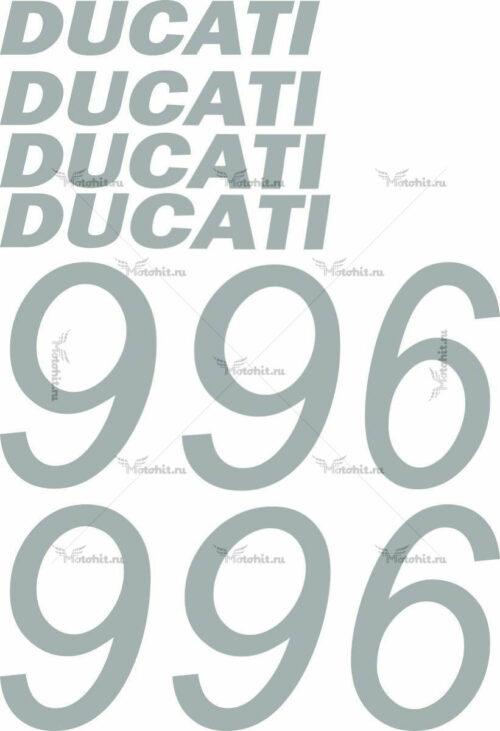 Комплект наклеек DUCATI-996-2