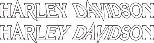 Наклейка HARLEY DAVIDSON 1A