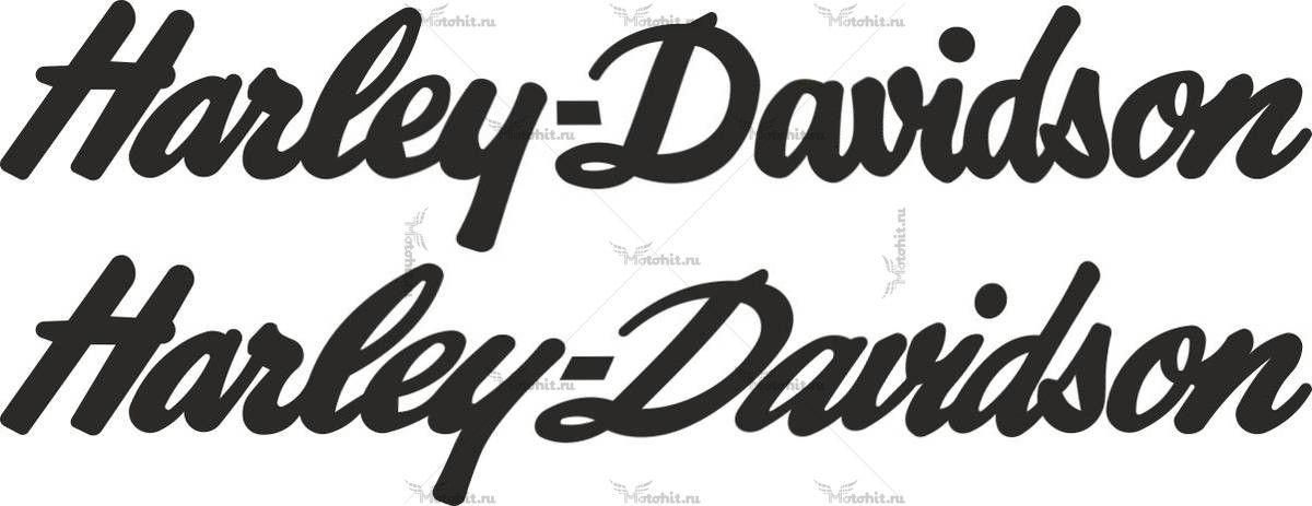 Наклейка HARLEY DAVIDSON 3