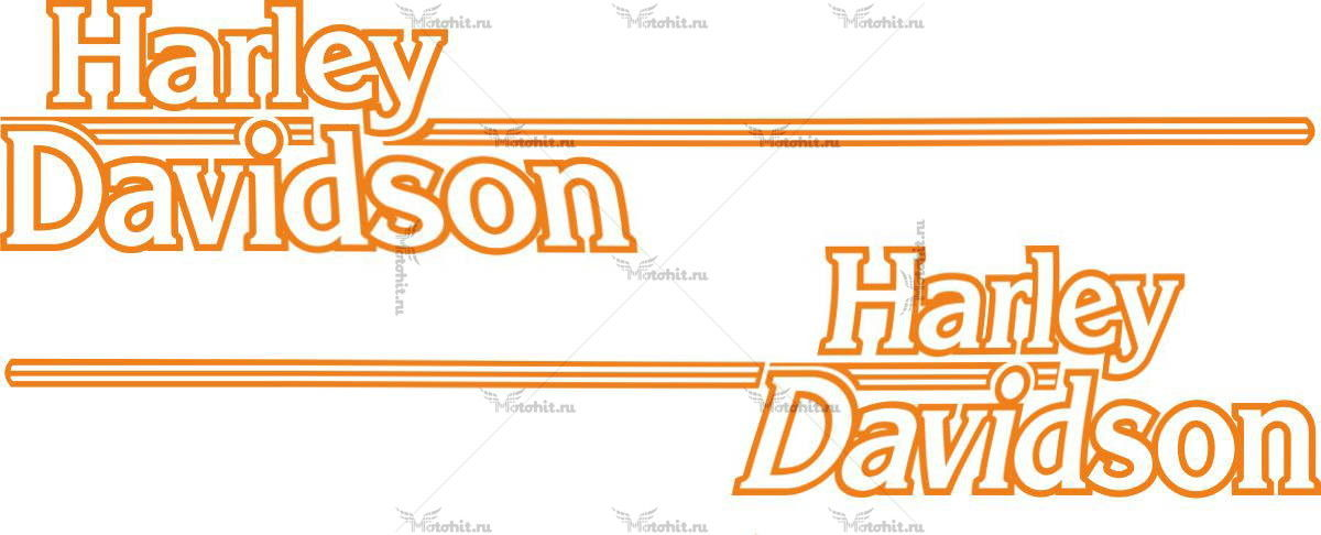 Наклейка HARLEY DAVIDSON 4