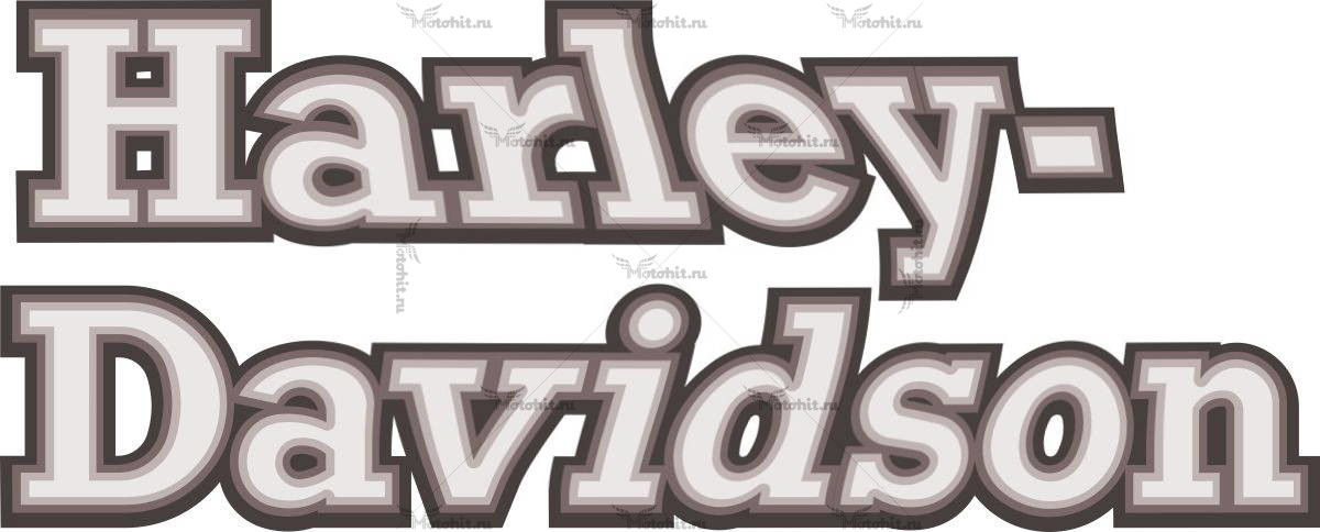 Наклейка HARLEY DAVIDSON 6