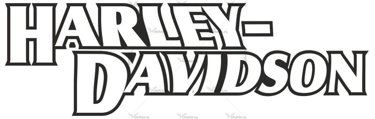 Наклейка HARLEY DAVIDSON 9