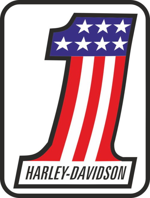 Наклейка HARLEY DAVIDSON 12