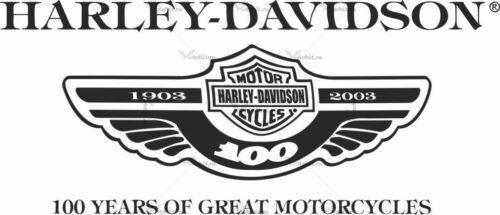 Наклейка HARLEY DAVIDSON 14