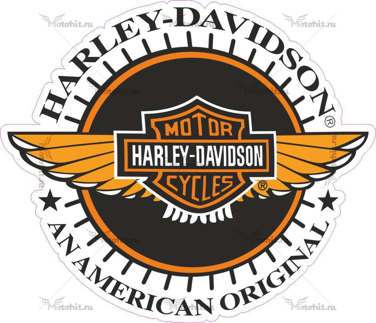 Наклейка HARLEY AMERICAN ORIGINAL