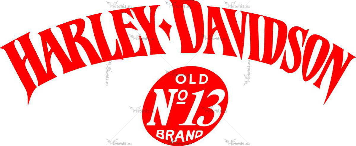 Наклейка HARLEY DAVIDSON BRAND-13