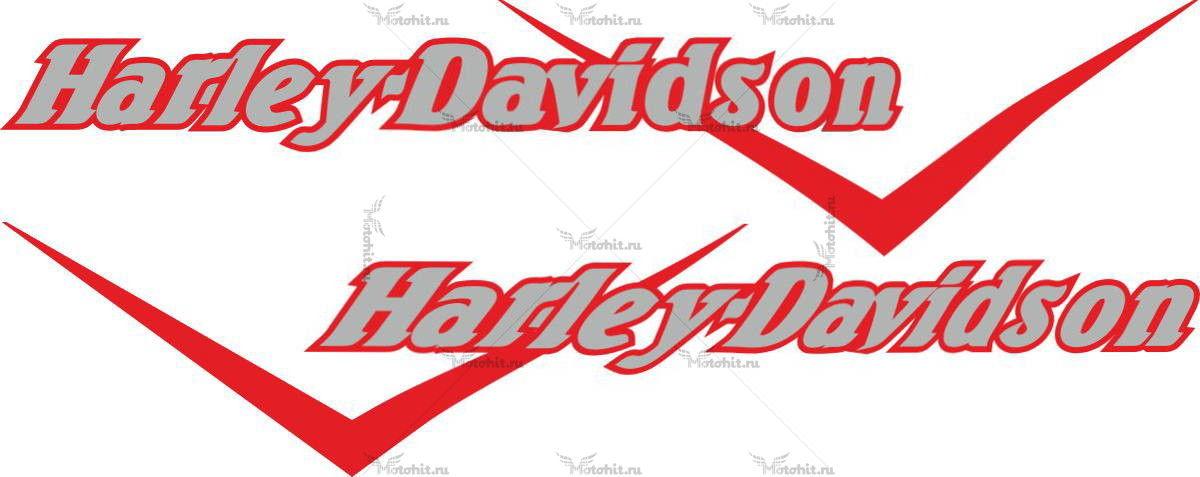 Наклейка HARLEY DAVIDSON DEPOSITO