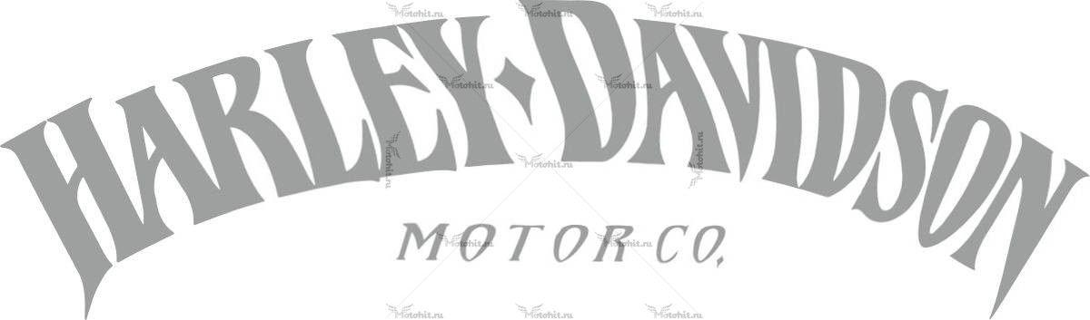 Наклейка HARLEY DAVIDSON MOTOR-CO