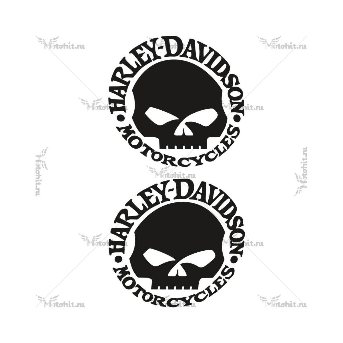 Наклейка HARLEY DAVIDSON SCULL