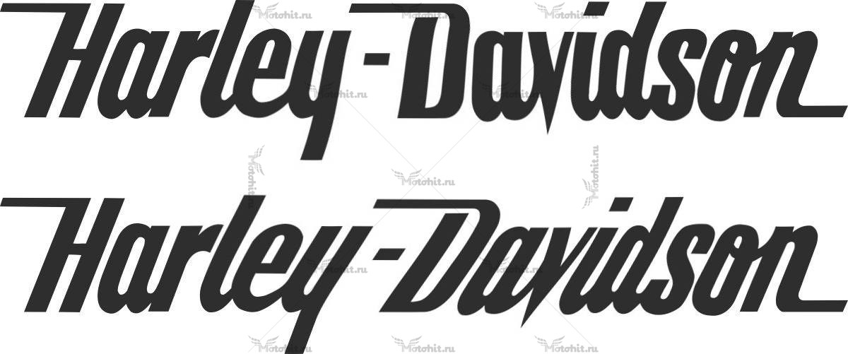 Наклейка HARLEY DAVISON 35