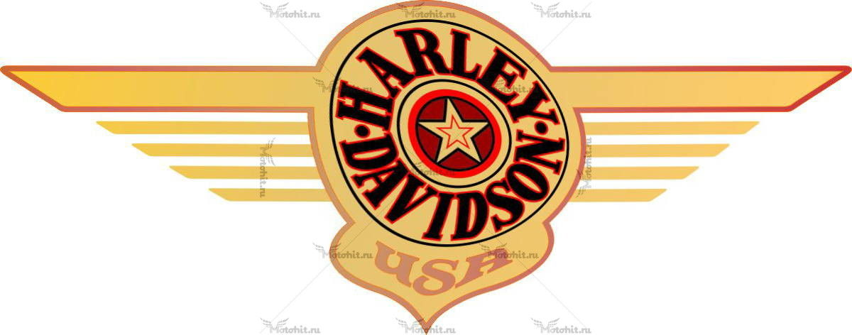 Наклейка HARLEY DAVIDSON FATBOY