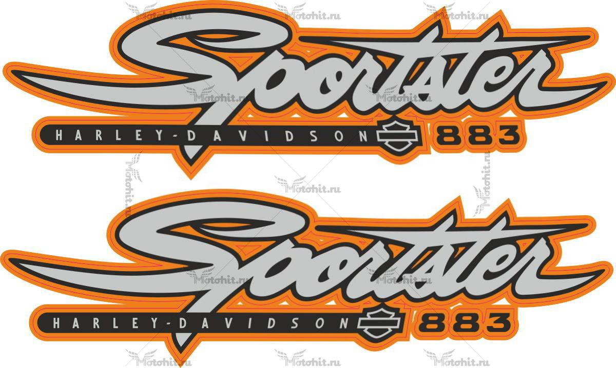 Наклейка HARLEY DAVIDSON SPORTSTER-883