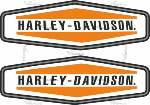Наклейка HARLEY DAVIDSON 35