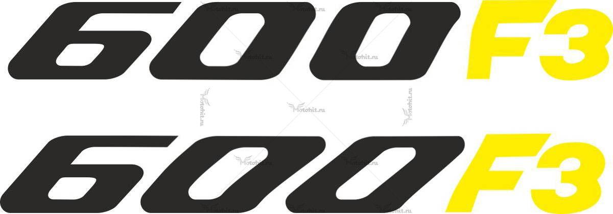 Наклейка Honda 600-F3