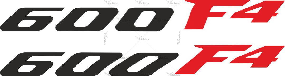 Наклейка Honda 600-F4