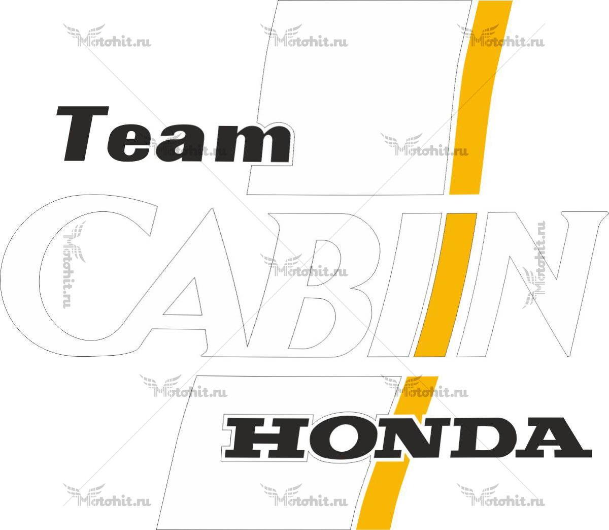 Наклейка Honda CABIN